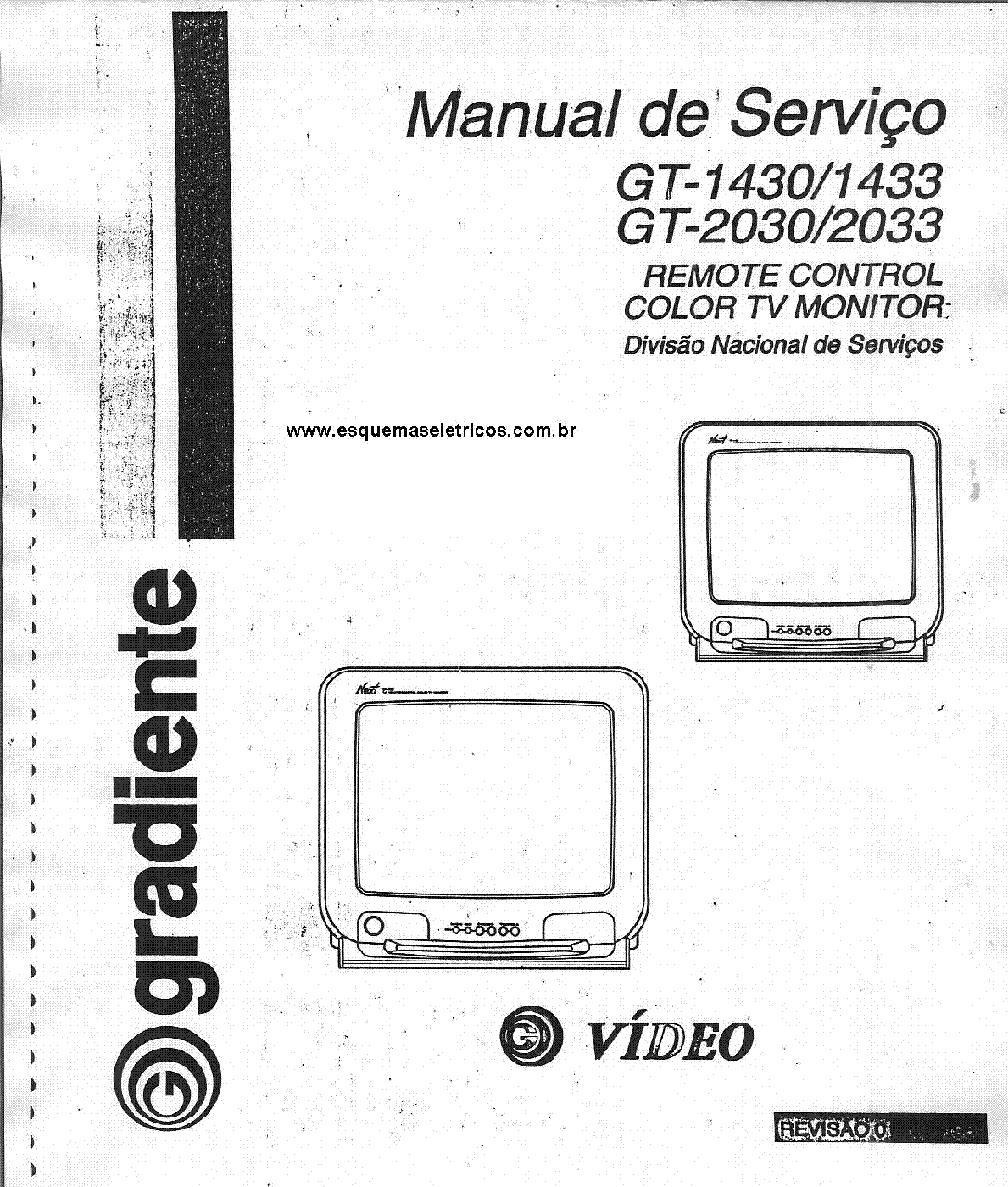 GRADIENTE HTM344S HTM388S Service Manual download