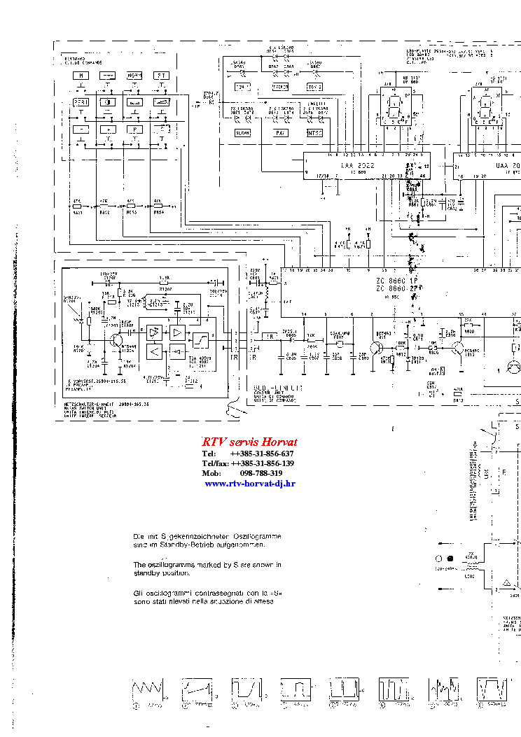 GRUNDIG TRIUMPH 1215 B W SCH Service Manual download