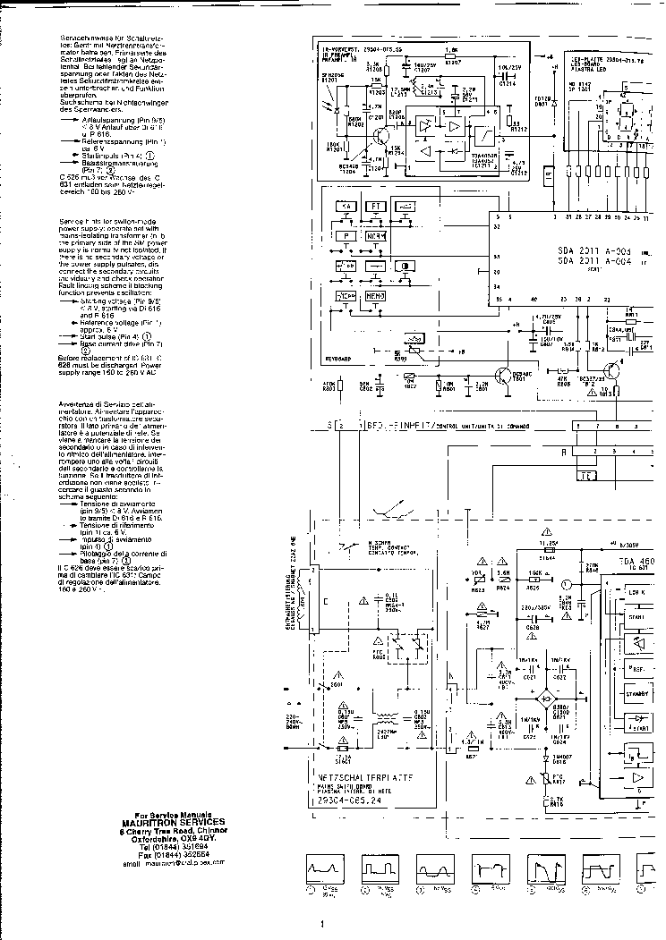 GRUNDIG CUC2410 Service Manual download, schematics