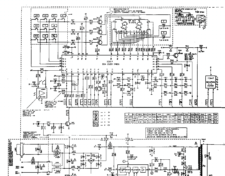 GRUNDIG CUC4400 Service Manual download, schematics