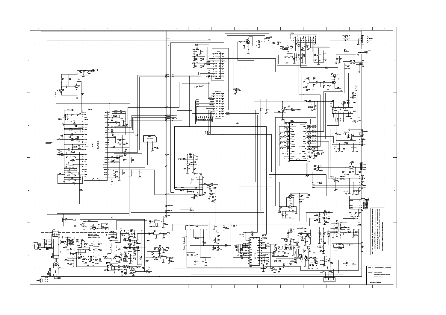 HAIER TV-29FA CIRCUIT DIAGRAM Service Manual download