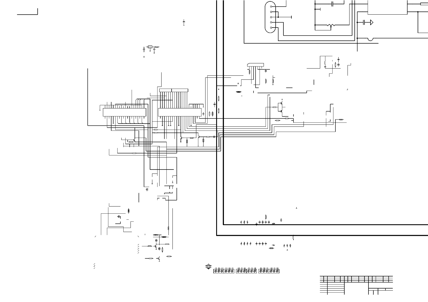 HAIER TV-29FA CIRCUIT DIAGRAM Service Manual free download
