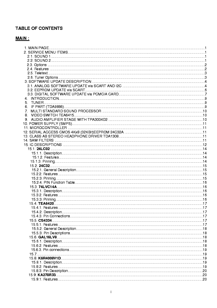 HITACHI 32LD8600 Service Manual download, schematics