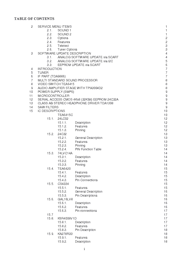 HITACHI 42PD8600 42PD8700C-U 42PD8A10 SM013 SM Service