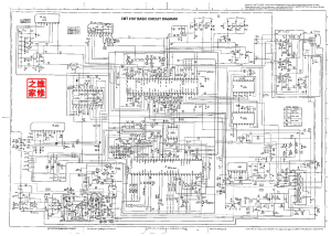 HITACHI CMT2187BASICCIRCUITDIAGRAM1 Service Manual
