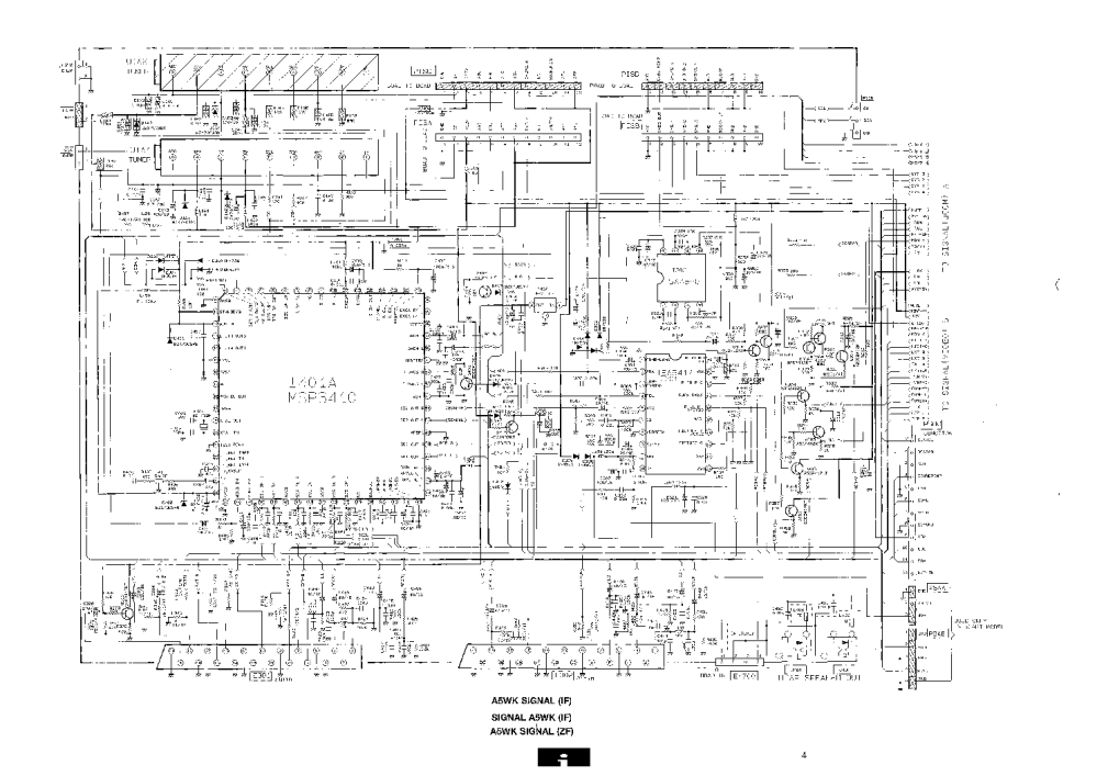 medium resolution of hitachi cp2893 tv d service manual 2nd page