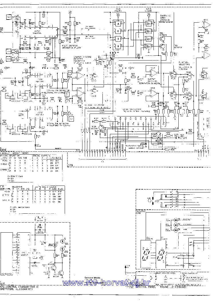 HITACHI CPT2789 TV D Service Manual download, schematics
