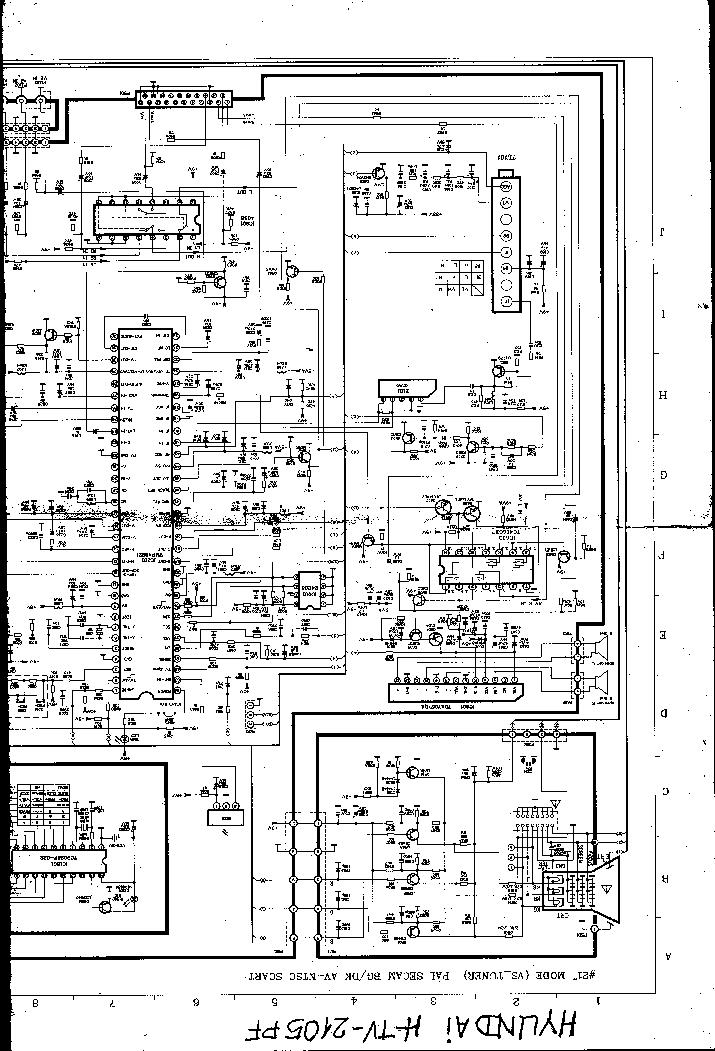 HYUNDAI H-TV2105PF Service Manual download, schematics