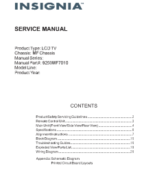 insignia ns 50l240a13 lcd tv service manual 1st page  [ 762 x 1074 Pixel ]