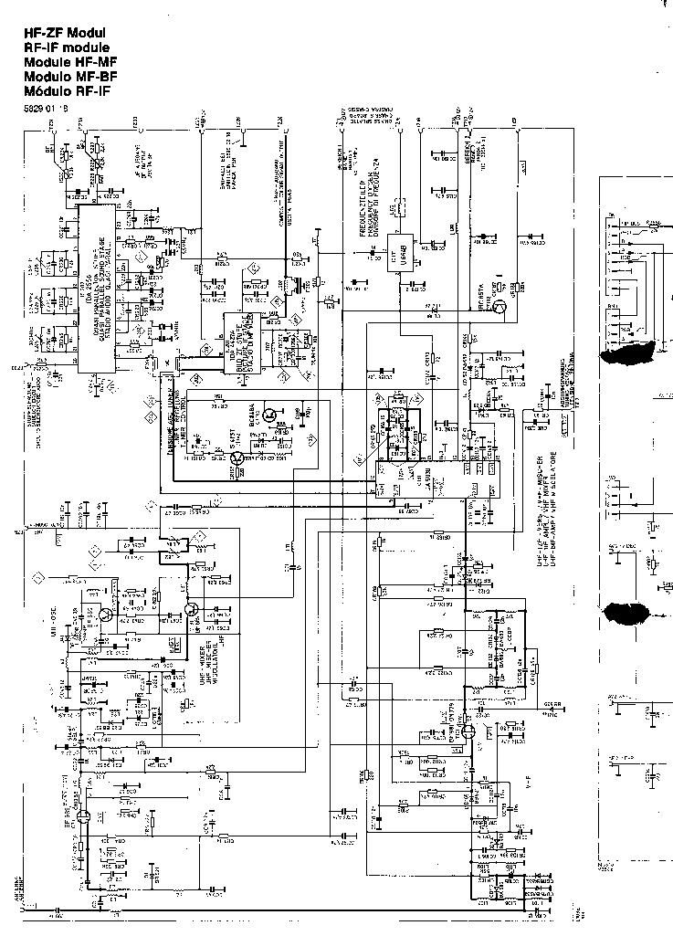 ITT NOKIA 7170PIP Service Manual download, schematics