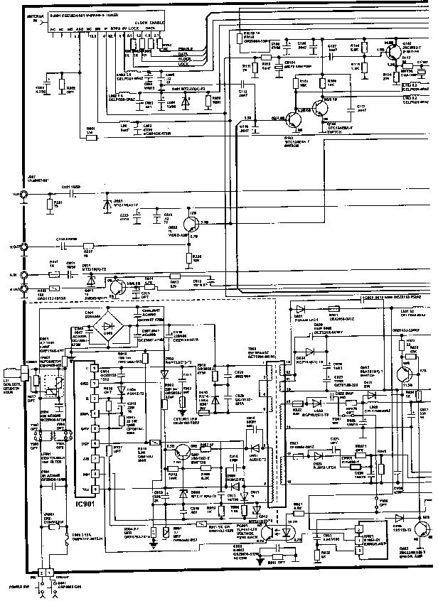JVC AV-218P LA7016 LA7975 M62325 M52343 M37102M8-C42SP