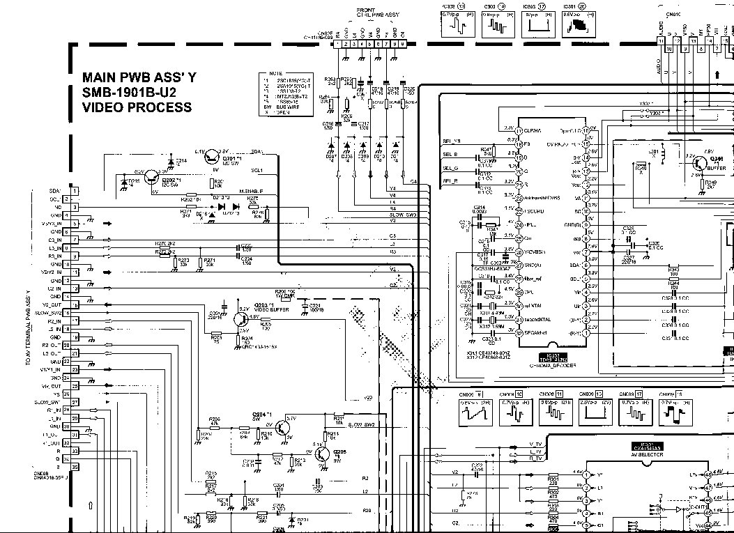 JVC LT-42A90BU SM Service Manual free download, schematics