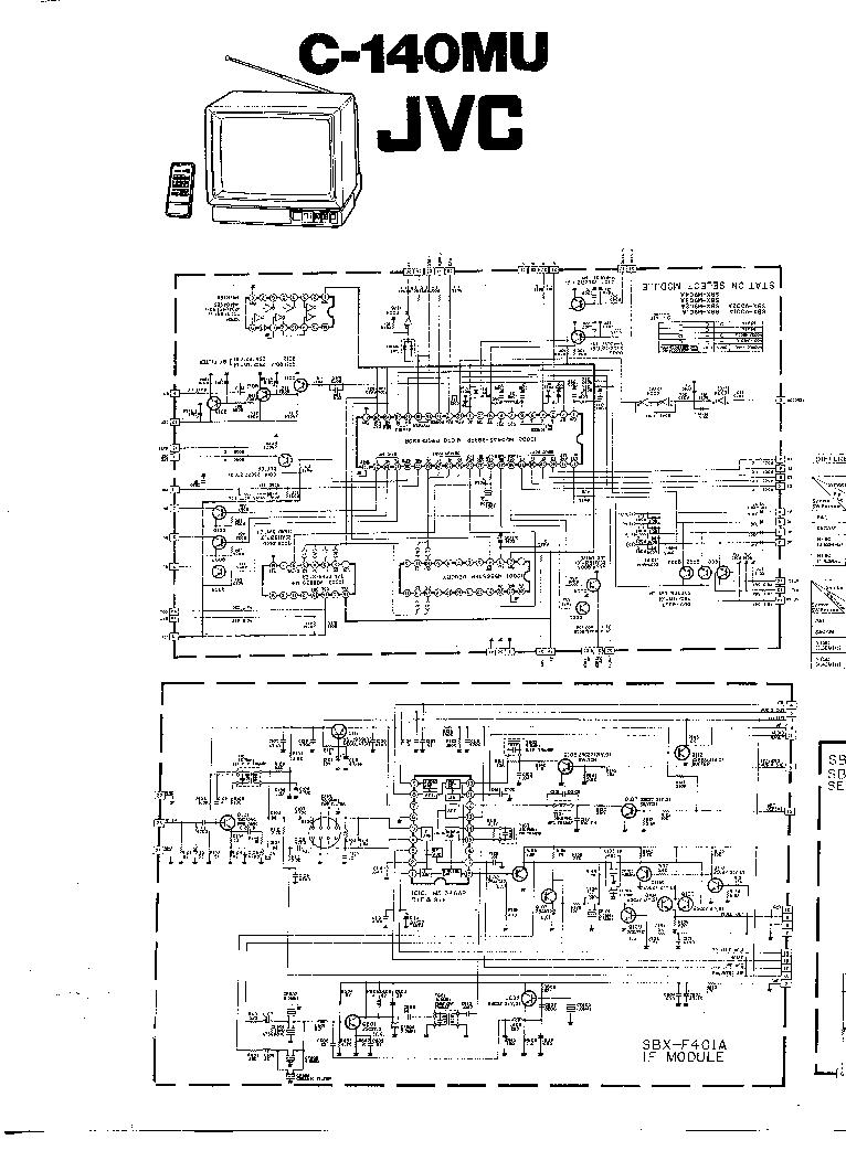 JVC C-140MU Service Manual download, schematics, eeprom