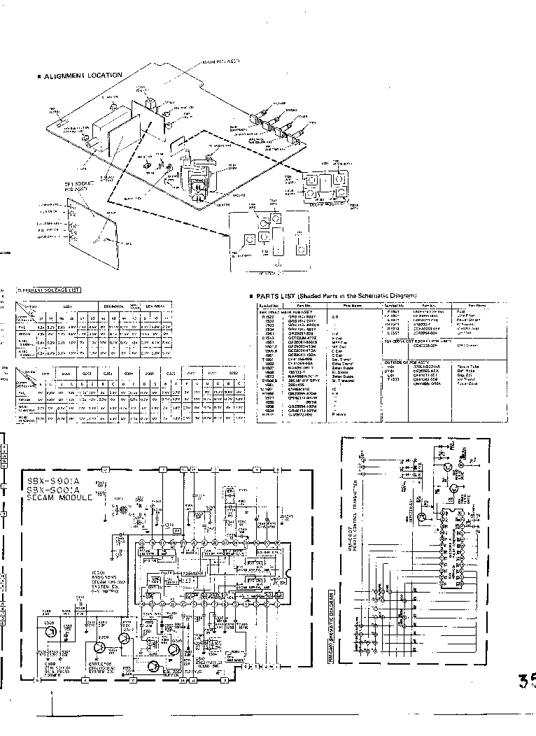 JVC C-140MU Service Manual download, schematics, eeprom