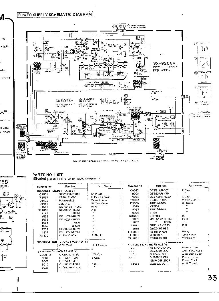 JVC C-2155 Service Manual download, schematics, eeprom