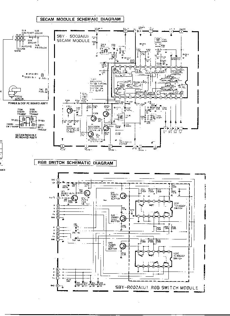 JVC C-S2181 Service Manual download, schematics, eeprom