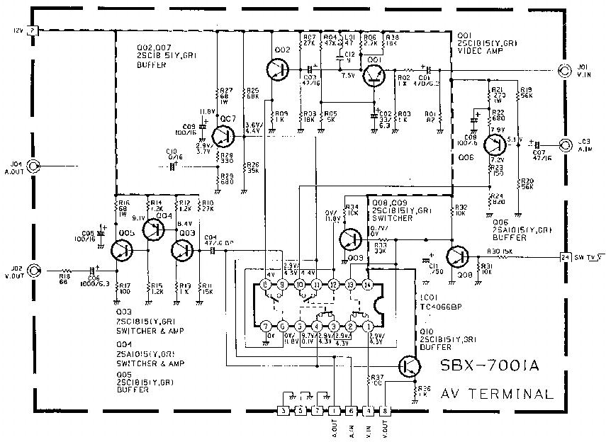 JVC FU CHASSIS LT26X506 LT32X506 LCD TV Service Manual
