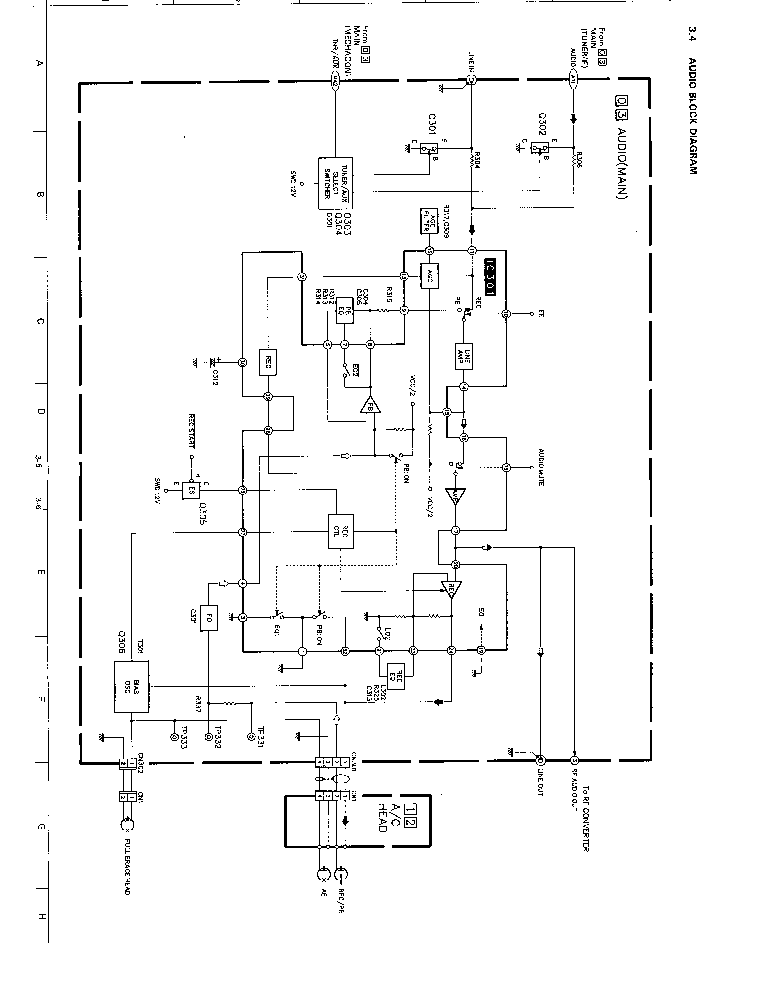 JVC HRDX20 Service Manual download, schematics, eeprom