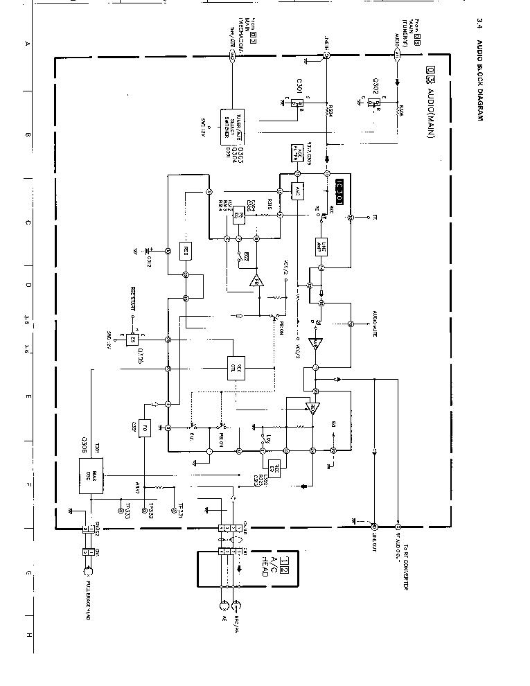 JVC HRDX20 Service Manual download, schematics, eeprom