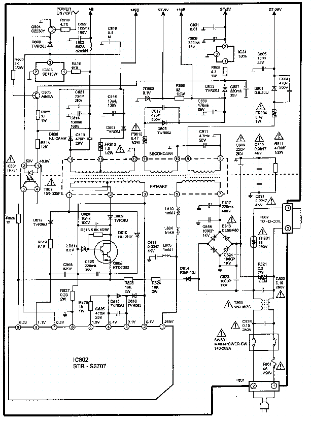 LG RE-29FA33PX MC-017A Service Manual download, schematics