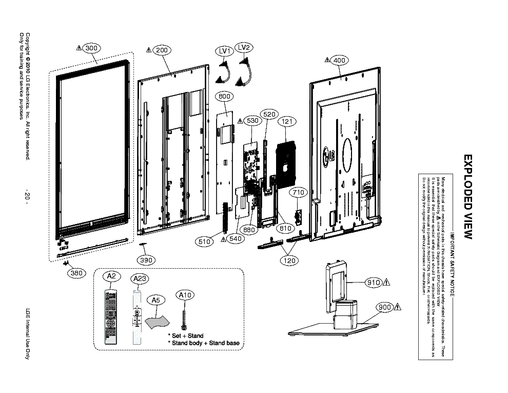 LG 47LX9500-3D SCH Service Manual download, schematics