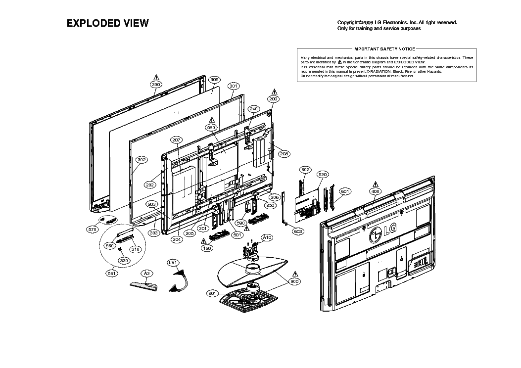 LG 50PQ30 SCH Service Manual download, schematics, eeprom