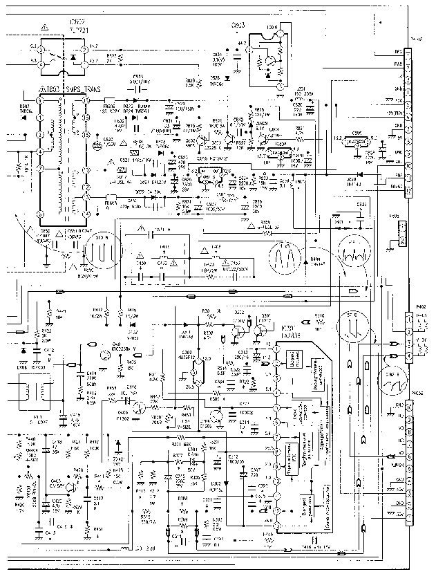 LG CF 25C80 SCH Service Manual download, schematics