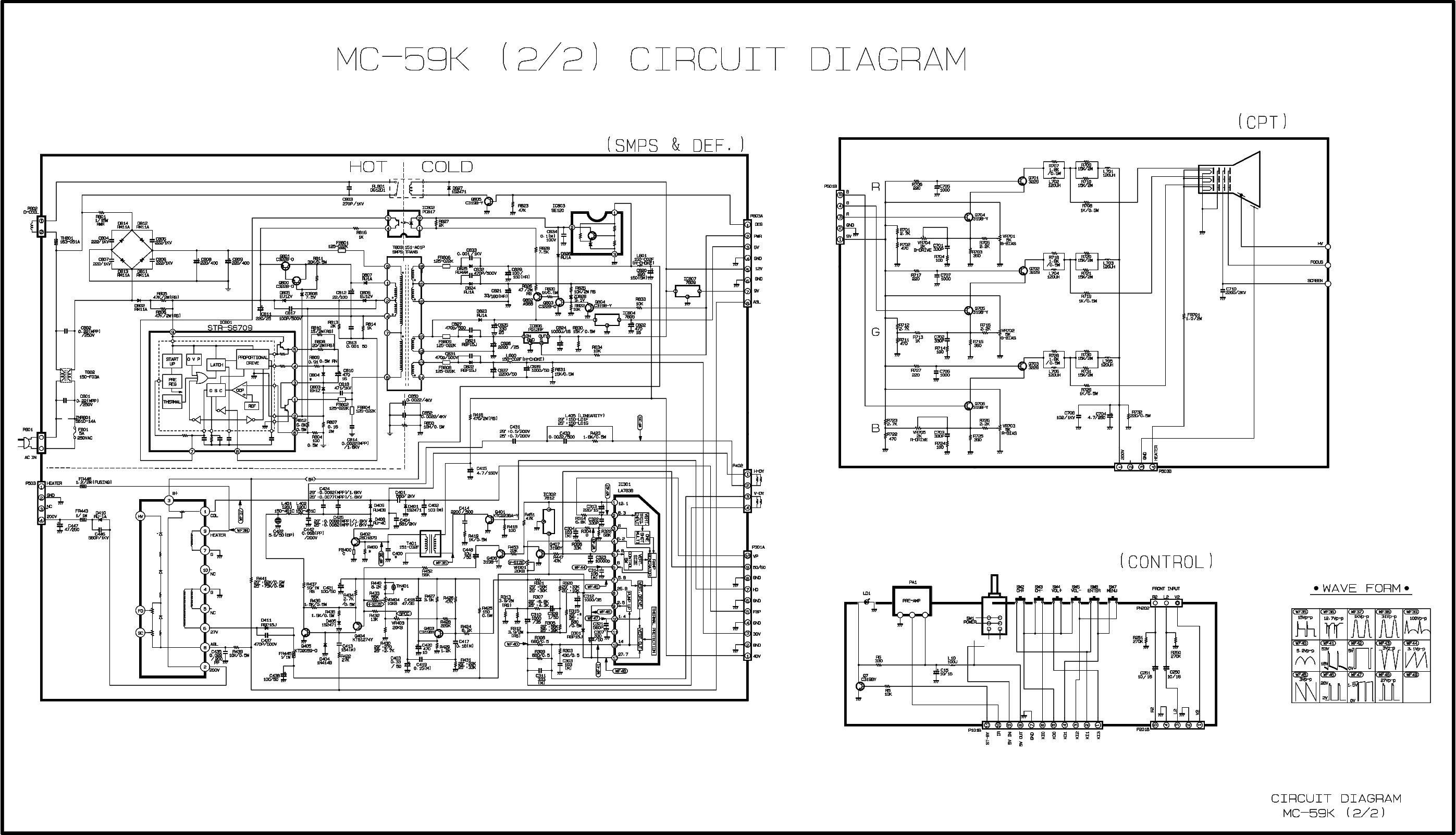 LG CH.MC59K-CP29C84M Service Manual download, schematics
