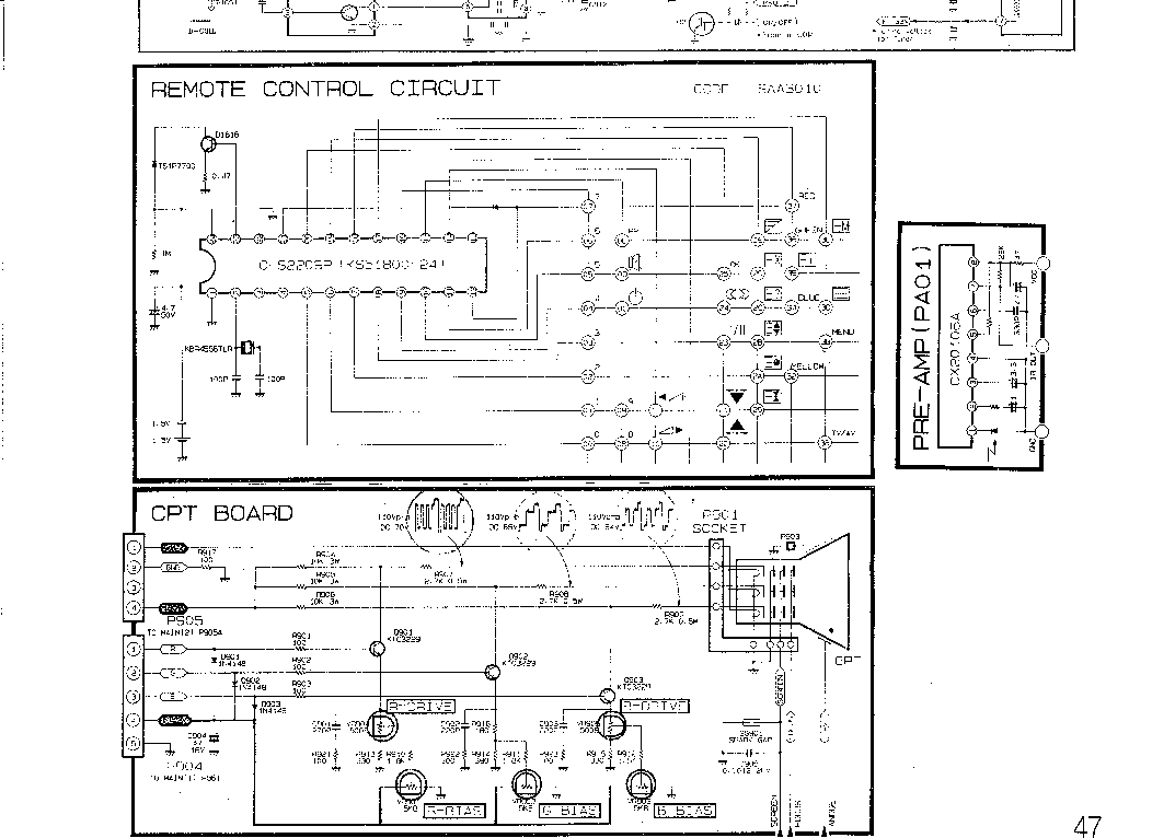 LG CH MC-46A Service Manual download, schematics, eeprom