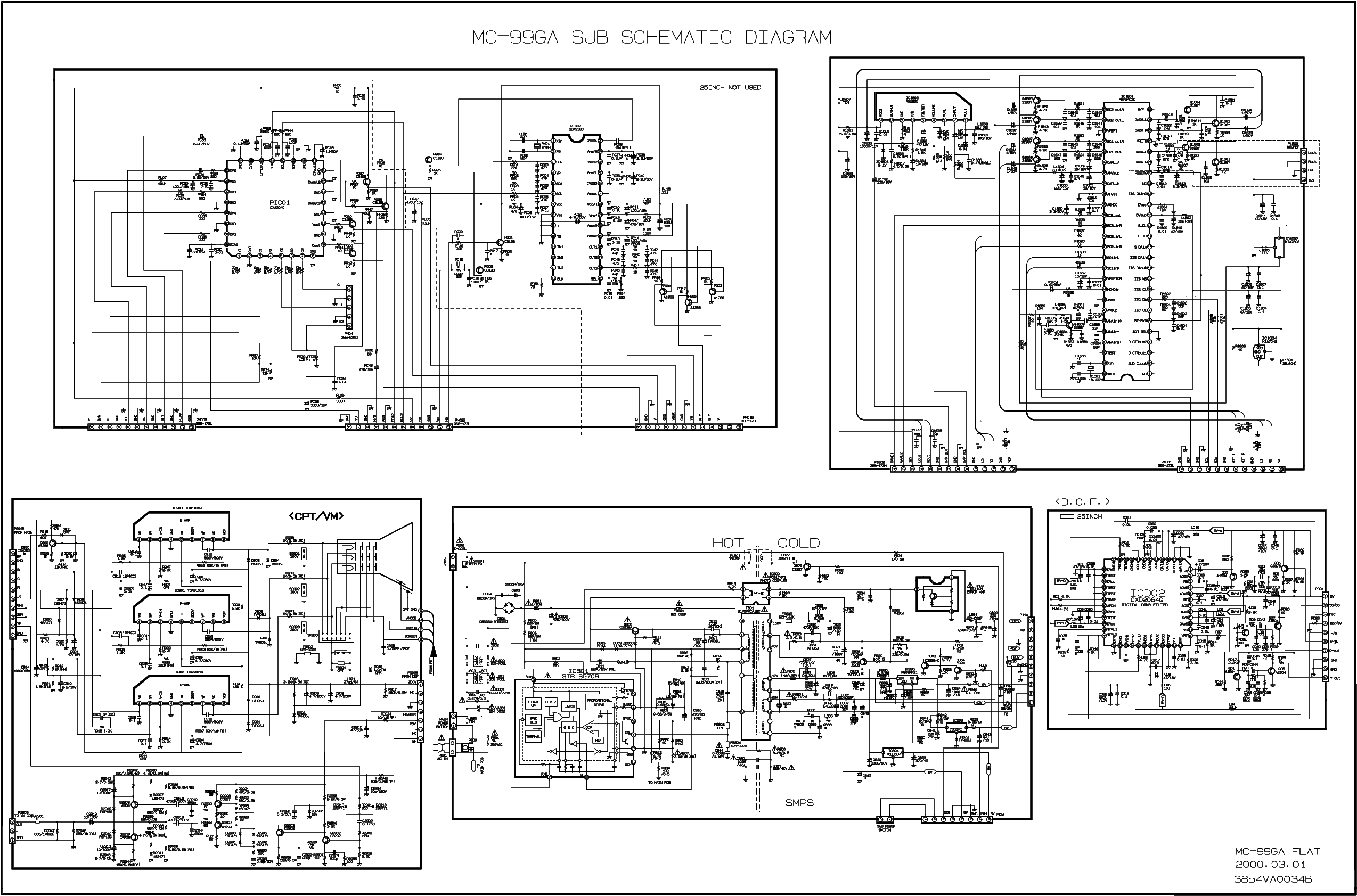 LG CHASSIS-MC-99GA Service Manual download, schematics