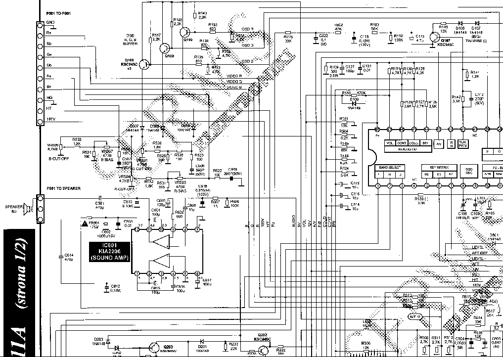 LG NC-31K CHASSIS Service Manual download, schematics