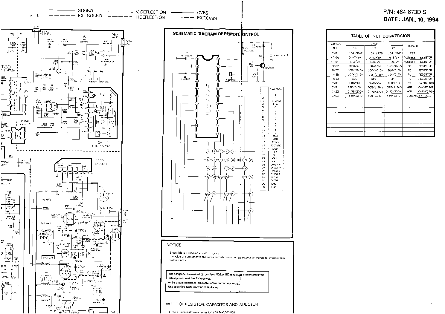 LG CHASSIS MC-34A Service Manual download, schematics