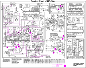 LG CHASSIS MC84A Service Manual download, schematics