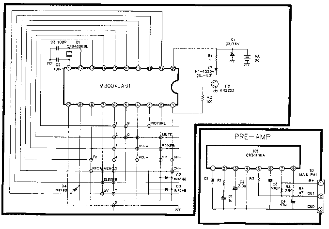 LG MC64B Service Manual download, schematics, eeprom