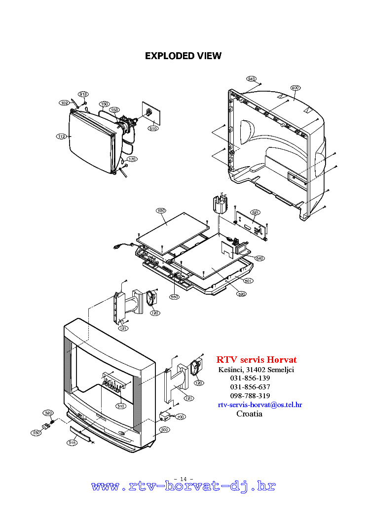 LG RP-29FA40 CHASSIS FA SM Service Manual download
