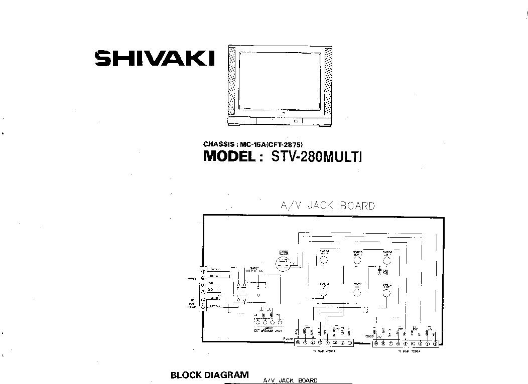 LG SHIVAKI CH MC-15A Service Manual download, schematics