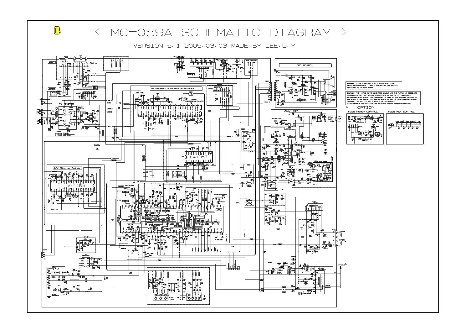 hight resolution of lg tv 21fb3ab ph mc059a b sch service manual download schematics lg tv connection diagram