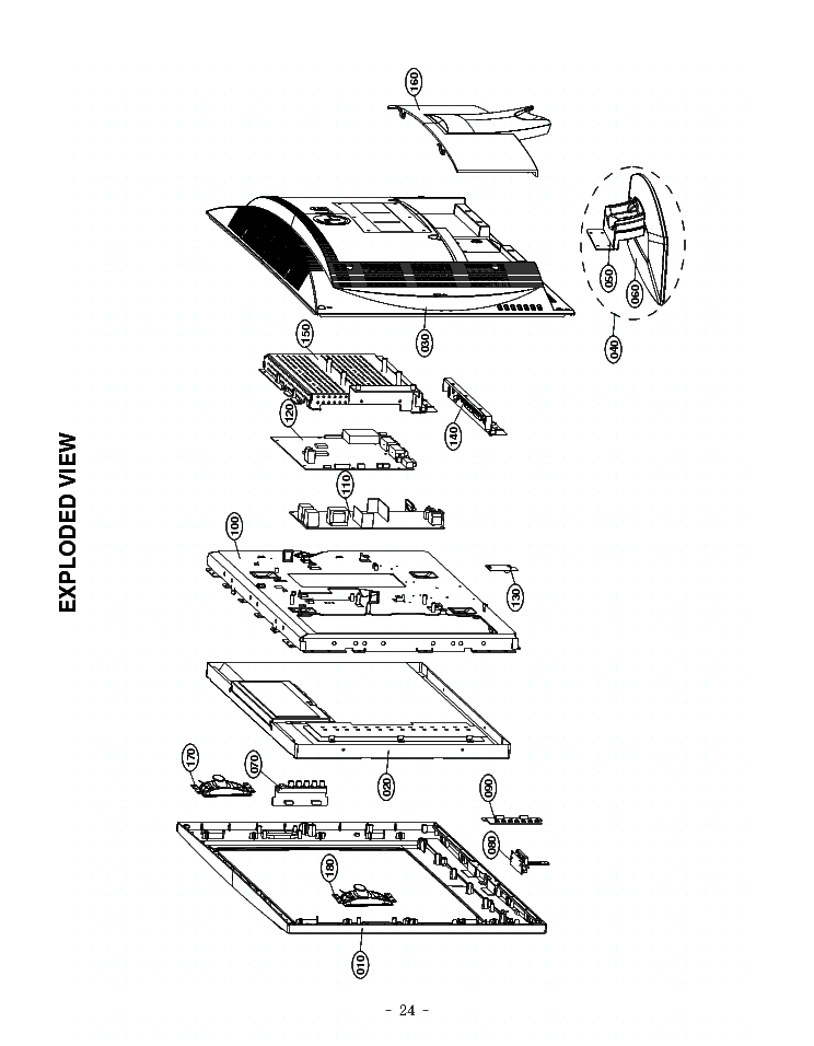 LG Z23LZ5R EXPLODED-VIEW Service Manual download