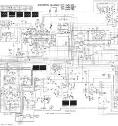 wrg 4083 for mitsubishi tv schematicsmitsubishi ct 14ms1e service manual 1st page  [ 2990 x 1786 Pixel ]