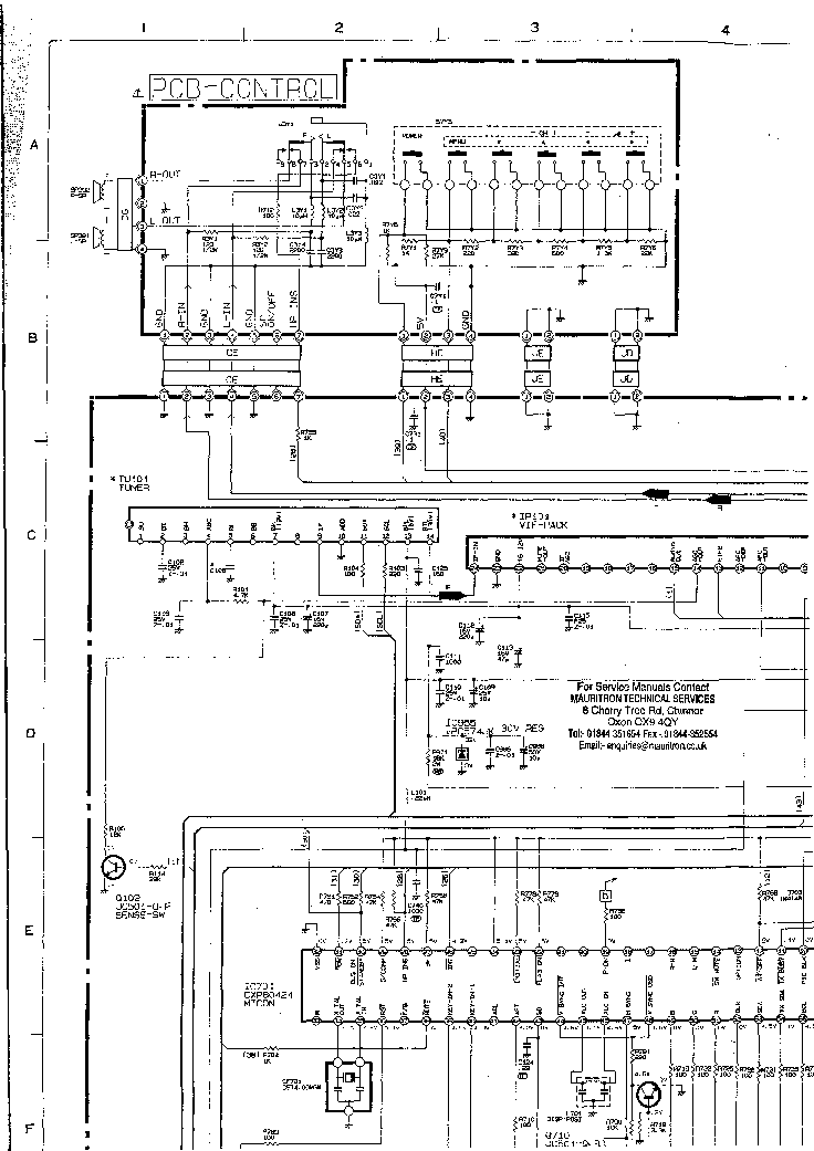MITSUBISHI CT-25A4 Service Manual download, schematics