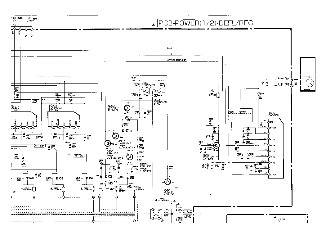 MITSUBISHI CT29AS1 Service Manual download, schematics