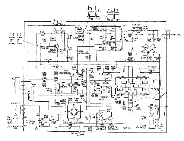 NEC 20T7773-MH SCH Service Manual download, schematics