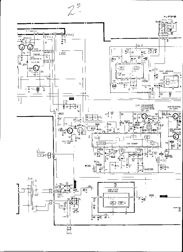 NEC CP-1411E,CT-2011E Service Manual download, schematics