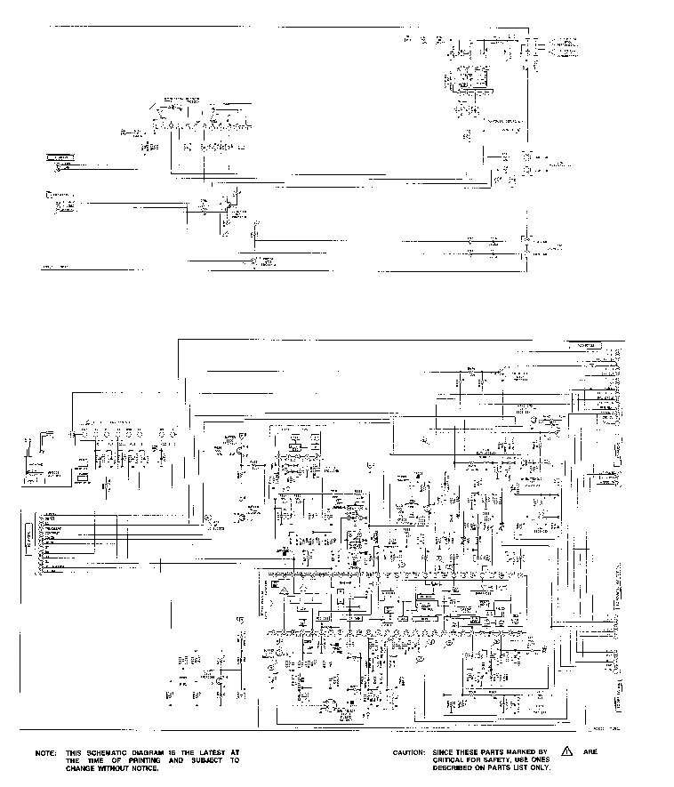ORION 2050MK5 Service Manual download, schematics, eeprom