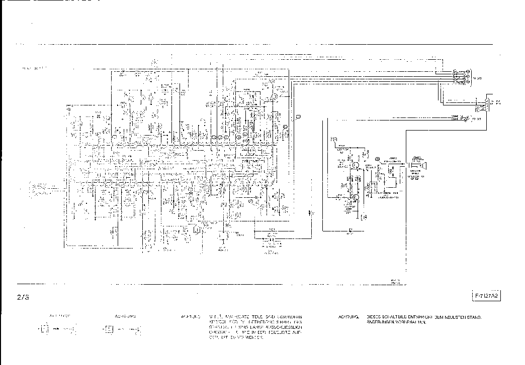 ORION COLOR 423 SCH Service Manual download, schematics