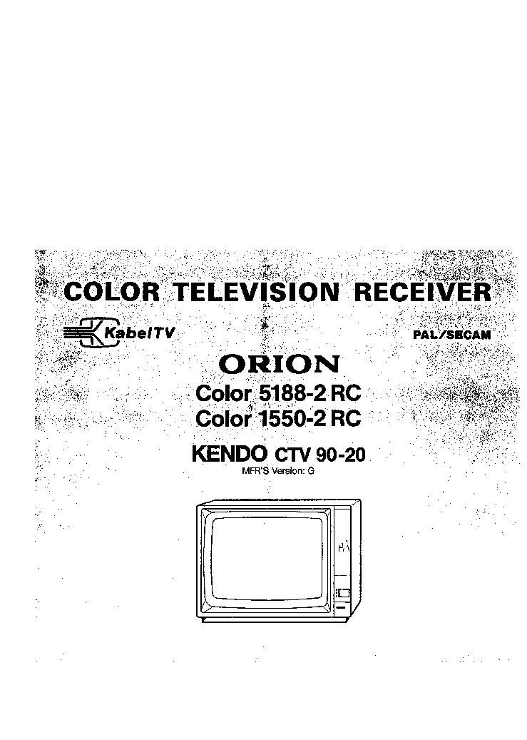 ORION CTV328ST Service Manual download, schematics, eeprom