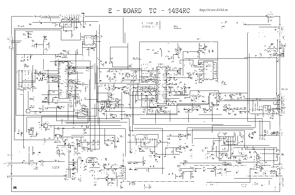 PANASONIC 14S4RC SCH Service Manual download, schematics