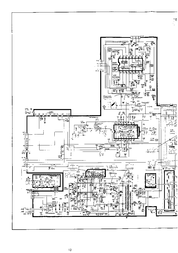 PANASONIC 20TC-2011 CHASSIS U-3 Service Manual download