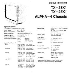 panasonic tx28xd1e tx25xd1e suppl eu2 service manual download panasonic tx28x1c service manual circuit diagram 1 page preview [ 754 x 1058 Pixel ]