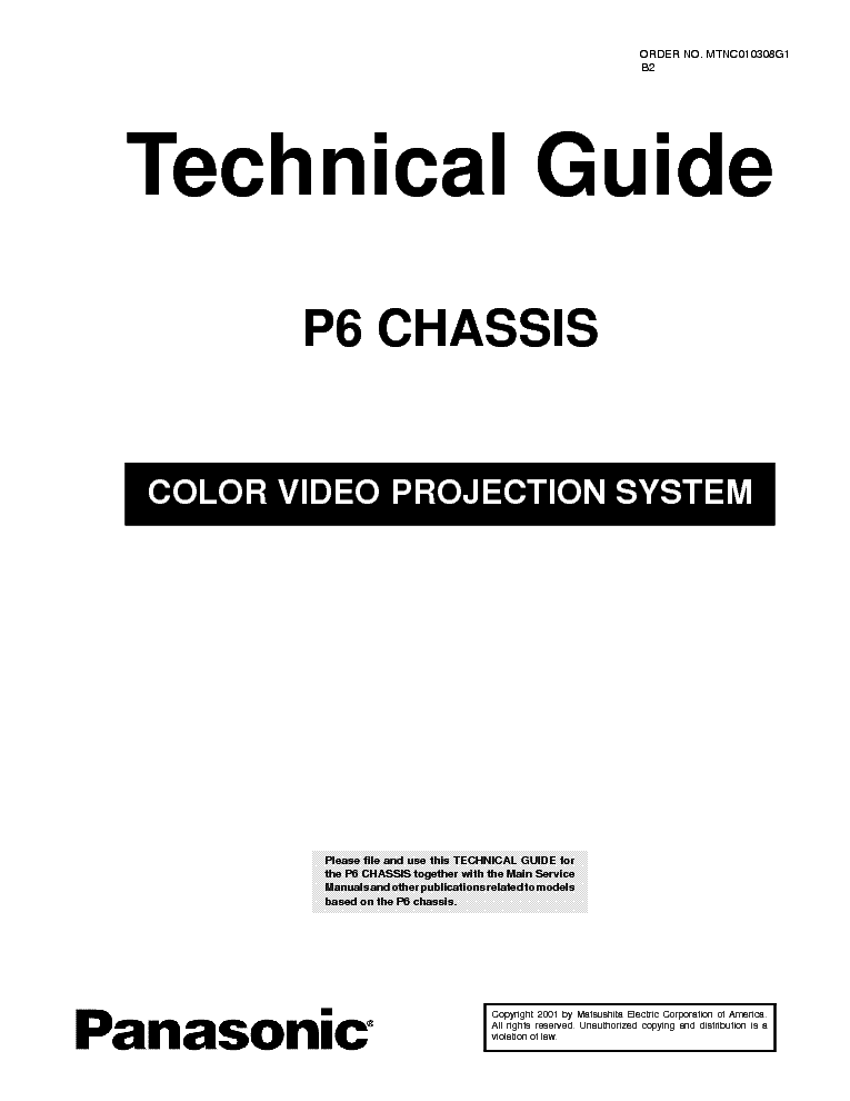 PANASONIC TH-50PZ85U CH GPF11DU Service Manual free